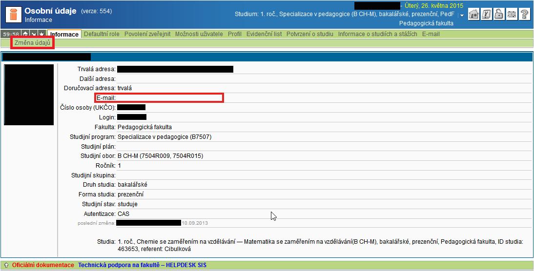 SIS-nastavení-mailu-02-osobní-údaje
